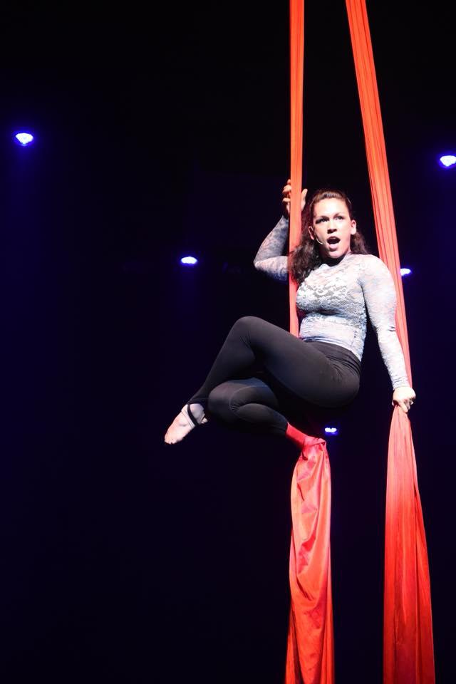 Tjaden: Aerial Silks Vocalist &Performer